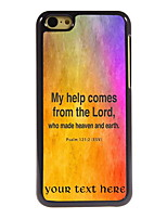 Personalized Gift The Lord Design Aluminum Hard Case for iPhone 5C
