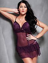 Suzel summer Ladies Sexy transparent temptation nightdress sexy underwear pajamas.