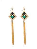Women's  Fashion Casual Elegant Tassel Long Earrings HJ0001