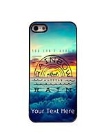 Personnalisé étui de téléphone - Multicolore  - en Plastique/métal - iPhone 5/5S