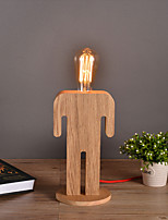 Brief Fashion Modern The Nordic / IKEA Full Wood Table Lamps Desk Lights Study Reading Lighting