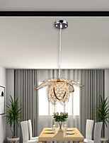 New Style Creative LED Pastoral Lotus Flowers Crystal Light /Living Room/Dining Room/Kitchen/with Height Adjustable