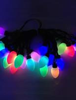 4W 5 Meter Outer Diameter 20pcs Bulb LED Modeling String Lighting Super Big Conical Ball Lights, RGB Color