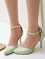 Women's Shoes  Stiletto Heel Heels Pumps/Heels Wedding/Party & Evening Green/Pink/White