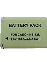12l 1910mah batería de la cámara para Canon G1X marca ii n100 mini X