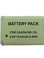12L 1910mAh Camera Battery for Canon G1X Mark II N100 MINI X