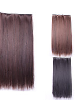 Perruque Harajuku Straight Natural False Hair Extension Hairpiece Costume Synthetic Hair Clip In Hair Extensions Pad
