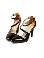 Women's Shoes  Stiletto Heel Heels Pumps/Heels Party & Evening/Casual Black/Yellow