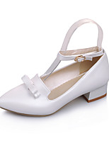Women's Shoes Low Heel Heels/Pointed Toe/Closed Toe Pumps/Heels Office & Career/Dress/Casual Blue/Pink/White