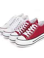 Scarpe Donna - Sneakers alla moda / Scarpe da ginnastica - Tempo libero / Casual / Sportivo - Plateau / Comoda / Punta arrotondata -