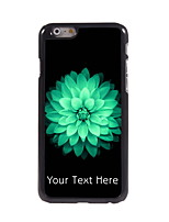 Personalized Gift Beautiful Flower Design Aluminum Hard Case for iPhone 6
