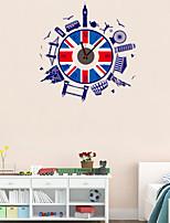 DIY Creative City Wall Clock