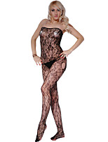 Women's Strapless Crotchless Sexy Bodystockings Erotic Costume