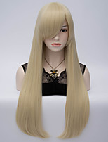 2015 Fashion Long Sexy Style Straight Blonde Wig New Arrival Synthetic Hair Wigs