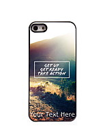Personalized Gift Get UP Design Aluminum Hard Case for iPhone 4/4S