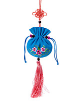 China Hand Embroidery Pendant-- Sachets (Blue)