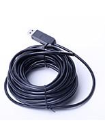 superfino 5,5 milímetros de diâmetro comprimento 10musb fio endoscópios industriais, câmera lupa eletrônica médica