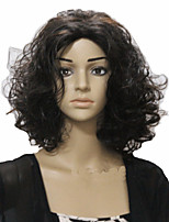 European and American Fashion Girl Necessary Curly Hair Black Wig