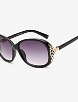 Fashion Women 's 100% UV400/Anti-Radiation Oversized Sunglasses(Assorted Color)