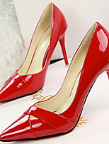 Women's Shoes Leatherette Stiletto Heel Heels/Pointed Toe Pumps/Heels Casual Multi-color