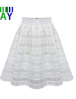 ZAY Women's Casual/Work Chiffon Skirts More Colors