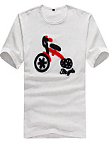 2015 High Quality 95% Cotton Brand Men's T-Shirt Short Sleeve 4 Color M-3XL