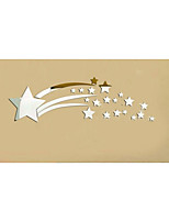 Mirror Wall Stickers Wall Decals, Star DIY Mirror Acrylic Wall Stickers
