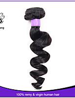 7a brasilianische lose Welle reinen Haares 1pcs viel daishang Haar unverarbeitete reine brasilianische lose Welle