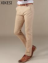 Men's Casual/Work Pure A Linen Blended Suits Pants (Linen) XKS6A12