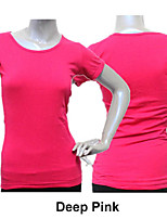 Cotton/Lycra Cap Sleeve Top More Colors for Girls and Ladies