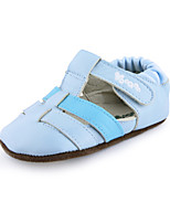 Baby Boys Girls Summer Shoes Outdoor Toddlers Suede Sandals Blue/Pink