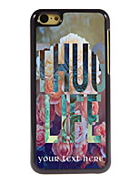 Personalized Gift Thug Life Design Aluminum Hard Case for iPhone 5C