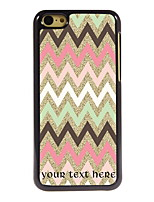 Personalized Gift Colorful Stripe Design Aluminum Hard Case for iPhone 5C