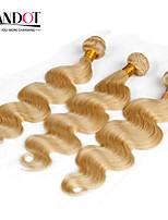 TOP 7A Bleach Blonde 613 Virgin Hair Extension Peruvian Vingin Hair Body Wave   Peruvian Human Hair Weave Bundles Hair