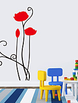 Wall Stickers Wall Decals Style Monotonous Beauty PVC Wall Stickers