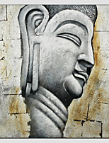 Oil Painting Buddha Style , Canvas Material with Stretched Frame Ready To Hang SIZE:70*70cm.