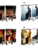 Cute/Cool /Ice Age/ Cartoon Skin Decal Sticker for Xbox 360 Slim Console & Controlers