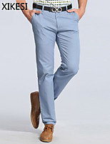 Men's Work/Formal Pure Suits Pants (Cotton) XKS6A02