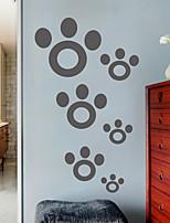 pegatinas de pared Adhesivos de pared, moderno patas simples pegatinas de pared del pvc