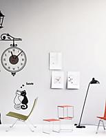 DIY European Style Street Lamp Wall Clock
