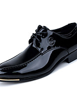 Men's Shoes Party & Evening Faux Leather Oxfords Black/Blue