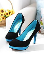 Women's Shoes Stiletto Heel Platform Pumps/Heels Office & Career/Dress Blue/Red