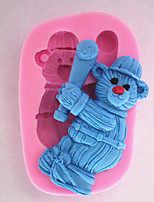 Bakeware Baseball Bear Fondant Mold Cake Decoration Mold