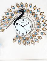 Vintage Peacock Clock