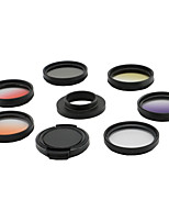GoproHERO 3 3+ 4 Universal filter kit UV CPL Grad Color filter 52mm