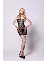Women Gartered Lingerie/Ultra Sexy Nightwear , Nylon/Spandex