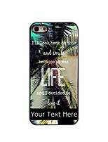 Personalized Gift Smile Design Aluminum Hard Case for iPhone 4/4S