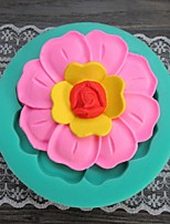 Flower Shaped Fondant Cake Chocolate Silicone Mold/Decoration Tools For kitchen