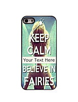 Personalized Gift Believe in Fairies Design Aluminum Hard Case for iPhone 4/4S