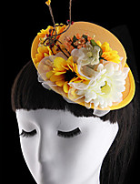 Women Hat Fascinators with Flower Headpiece